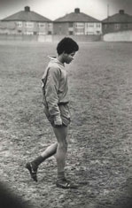 Howard Gayle at Melwood,19 years old