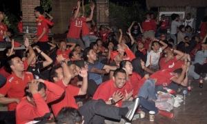Nonton bareng LFC vs. Man United di Jakarta