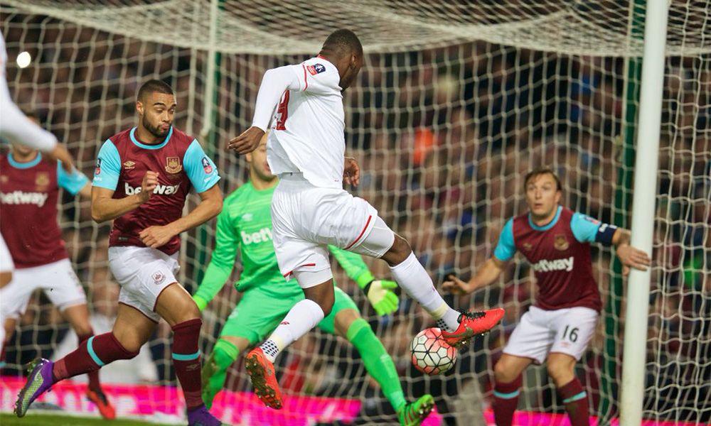 GALERI FOTO FA Cup: West Ham 2-1 LFC