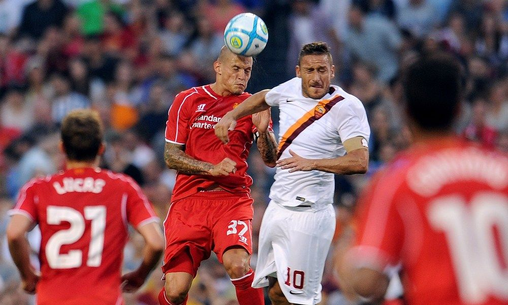 Momen-momen penting Liverpool vs AS Roma