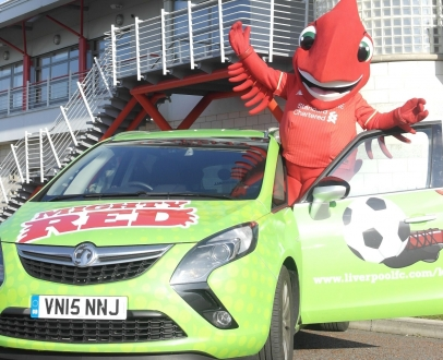 Win the chance to travel to school in style in the Mighty Red Mobile!