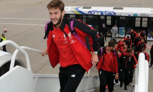 Reds set off for Helsinki friendly