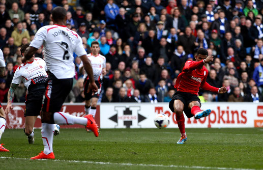 Cardiff City 3 - 6 Liverpool FC Match Picture