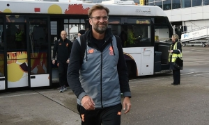 GALERI: Liverpool menuju Sevilla