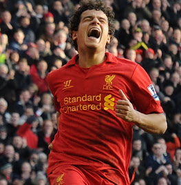 Individual Highlights: Suarez, Coutinho & Sturridge in Liverpools rout of Swansea