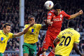 Liverpool 1-1 Norwich: 40 mins