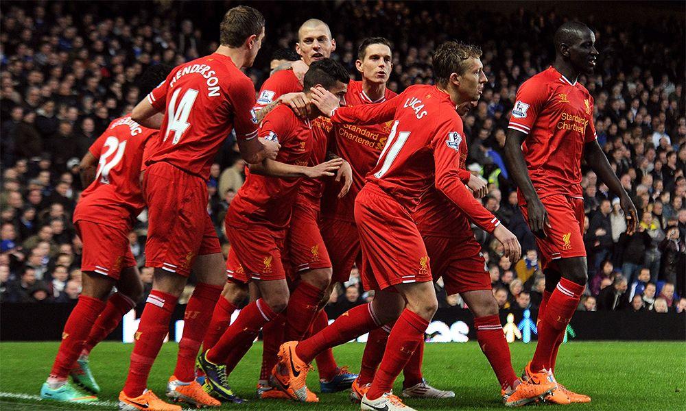 Agen Bola - Babak Pertama Liverpool Kalah Dengan Skor 0-2