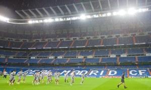 UCL: LFC lakukan persiapan di Stadion Santiago Bernabeu