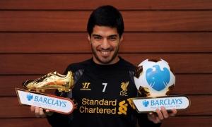 Suarez pemain terbaik dan pencetak gol terbanyak BPL