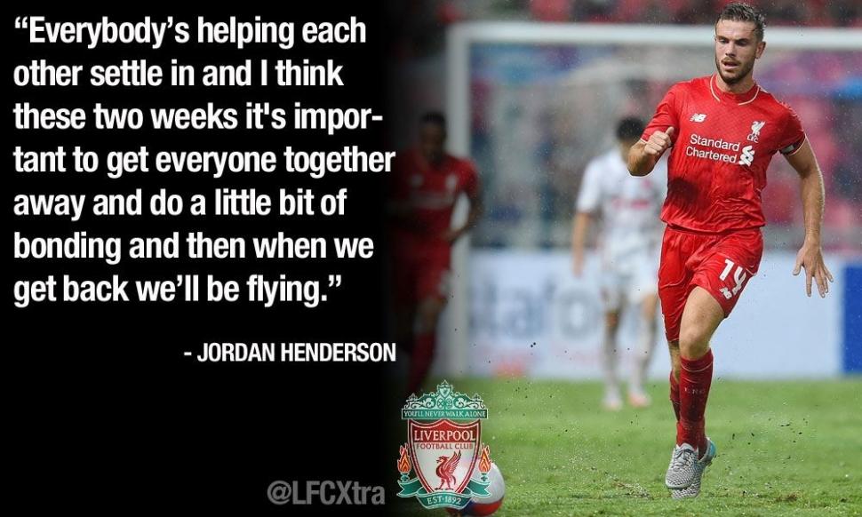 Rodgers And Sakho On Liverpools Tour Victory Liverpool Fc