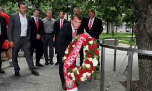 Rodgers dan Legenda LFC kunjungi WTC New York