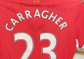 Carra adds support to brave Joshua