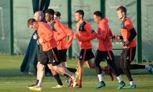 The Reds bersiap diri di Melwood jelang jamu Sunderland