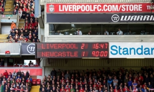 LFC 2-1 Newcastle