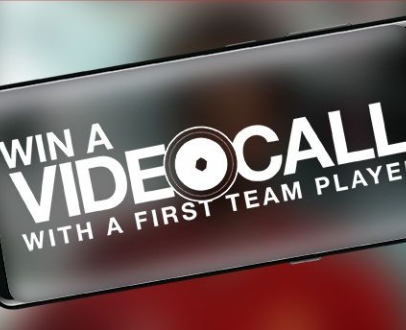 Win a Video Call with a First Team Player!