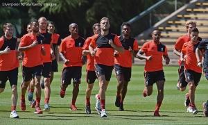 Latihan perdana Liverpool pada Tur Amerika