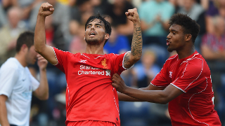 Suso on sublime strike