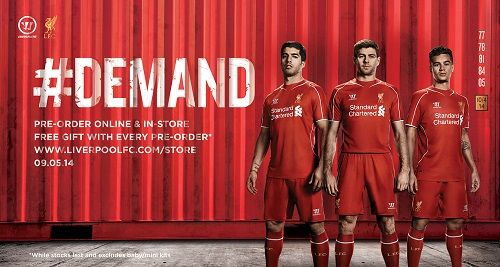 Liverpool 14//15 Away Soccer Short