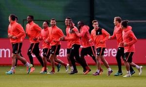 Reds bersiap hadapi Crystal Palace