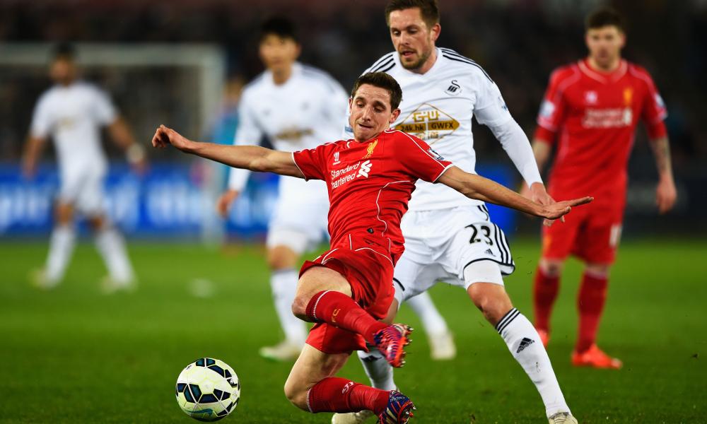 Sepuluh laga terakhir Liverpool lawan Swansea