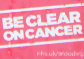 LFC support 'Be Clear on Cancer' campaign