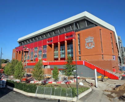 Experience Anfield's new Main Stand before its first matchday