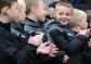 Young Reds receive support from U8s