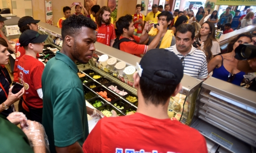 Video: Duo take Subway challenge
