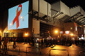 Red ribbon lights up Kop