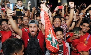 What a welcome for Reds in Kuala Lumpur