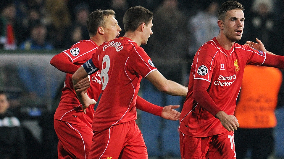 Ludogorets 2-2 LFC: Highlights