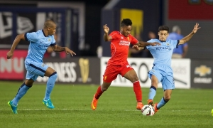 Pra Musim: LFC 2-2 Man City