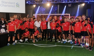 Reds attend Standard Chartered gala