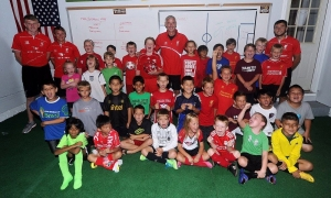 Ian Rush kunjungi sekolah sepakbola di Charlotte