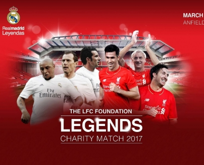 WIN Tickets to LFC Legends v Real Madrid Legends