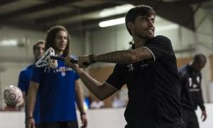 Pra Musim: Pemain LFC ikuti tantangan Lacrosse dari Warrior