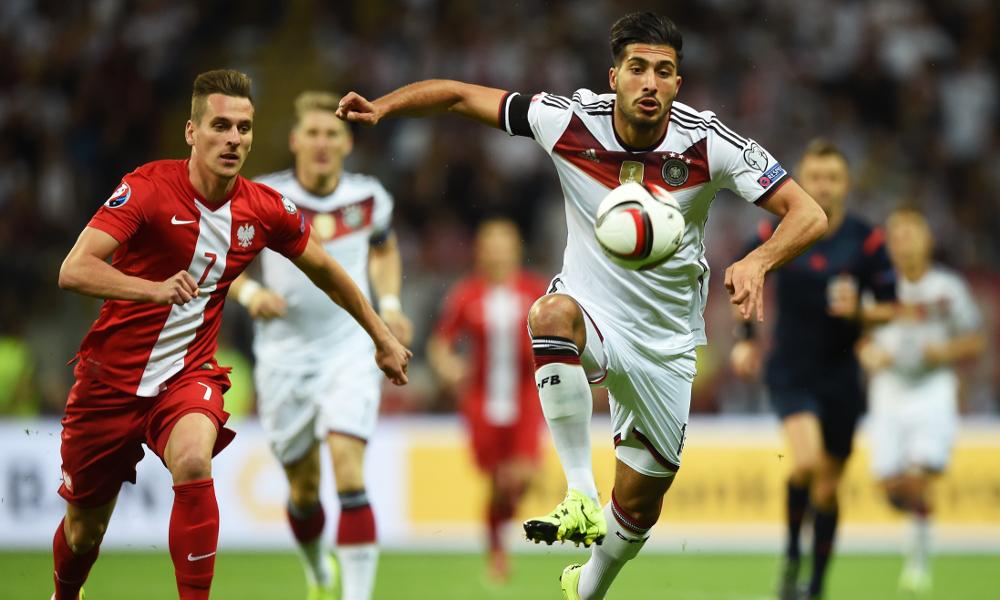 Debut Emre Can bersama timnas Jerman berakhir gemilang