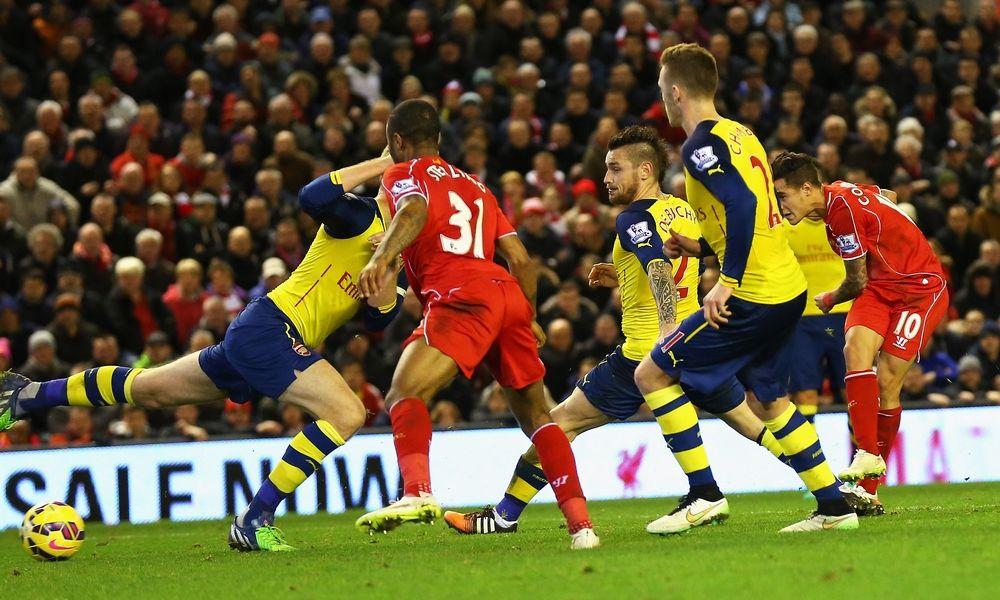 Menit per menit: Liverpool 2-2 Arsenal