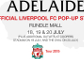 Visit the LFC pop-up store in Adelaide