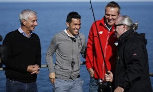 LFC legends: Gone fishin' in Adelaide