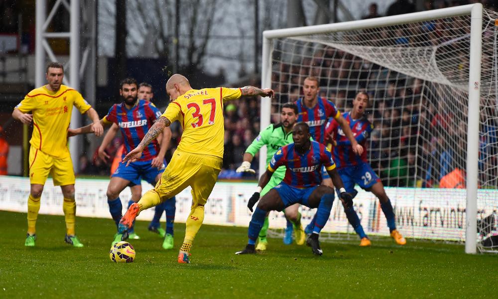 Menit ke menit: Crystal Palace 3-1 Liverpool FC