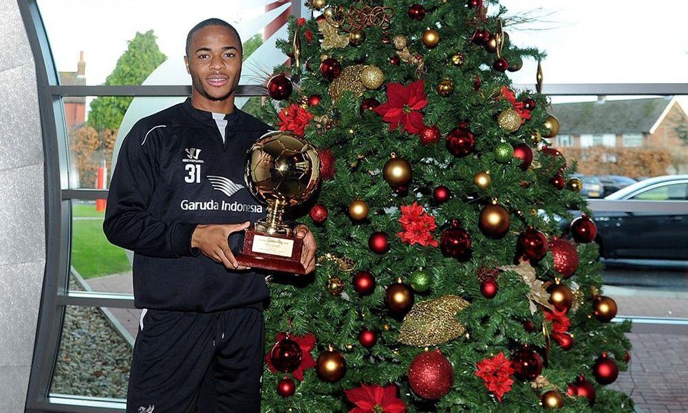 Sterling meraih Golden Boy Award