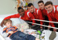Academy visit Alder Hey ahead of walk