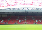 Play on the Anfield pitch
