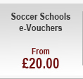 Soccer Schools e-Vouchers - from £20.00