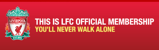 lfc official membership banner