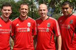 LFC coaches head to Mumbai for the start of the latest LFC-Standard Chartered Football Clinic and GOAL exchange programme.