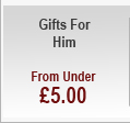Gifts for Him - from under £5.00
