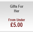 Gifts for Her - from under £5.00