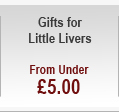 Gifts for Little Livers - from under £5.00
